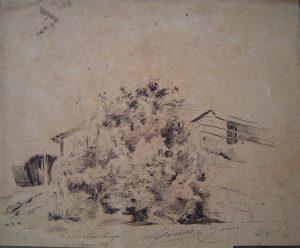 ALÉM PARAÍBA - BICO DE PENA/PAPEL - 1889 - COLEÇÃO PARTICULAR