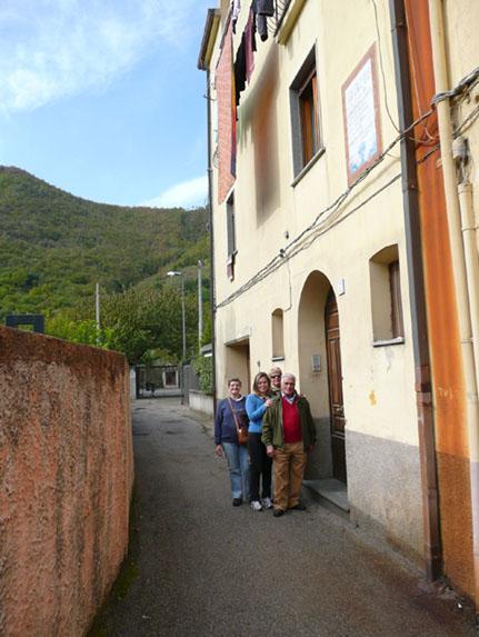 Casa onde nasceu Eliseu Visconti - Foto de 2007