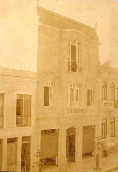 Atelier da Av. Mem de Sá, 60 - Visconti na Janela - 1908