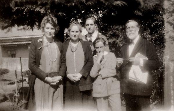 Visconti com a família - c. 1930