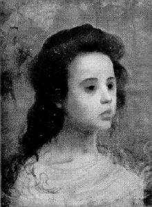 MENINA - OST - 31 x 23 cm - 1899 - LOCALIZAÇÃO DESCONHECIDA