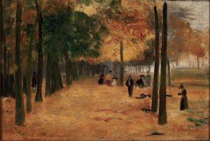 CANTO DE LUXEMBURGO (OUTONO) - OST - 22,5 x 33,0 cm - c.1895 - COLEÇÃO PARTICULAR