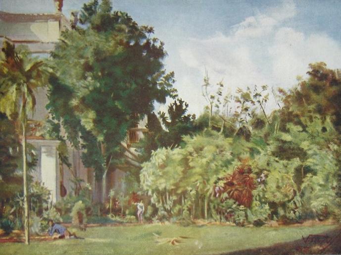 ANTIGO PALÁCIO DA MARQUESA DE SANTOS - OST - 1888 - LOCALIZAÇÃO DESCONHECIDA