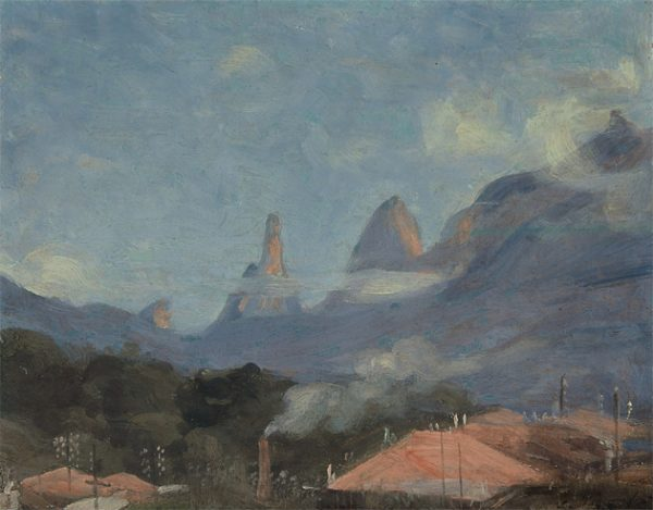 DEDO DE DEUS - OSM - 28 x 35 cm - c.1930 - COLEÇÃO PARTICULAR