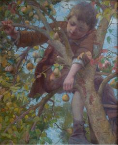 TRAVESSURA - OST - 80 x 68 cm - 1897 - COLEÇÃO PARTICULAR