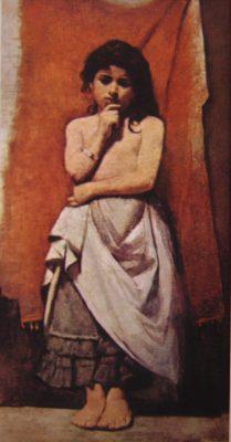 A CABOCLINHA - OST - 96 x 50 cm - 1891 - LOCALIZAÇÃO DESCONHECIDA