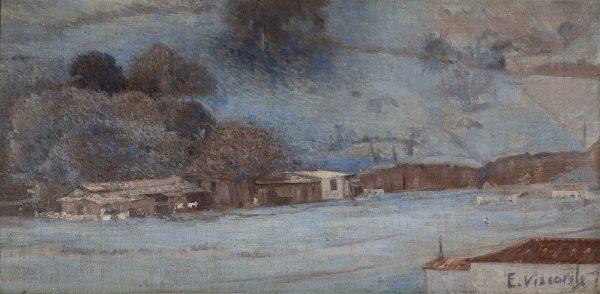 RUA SANTA CLARA - COPACABANA - OST - 28 x 58 cm - c.1924 - COLEÇÃO PARTICULAR