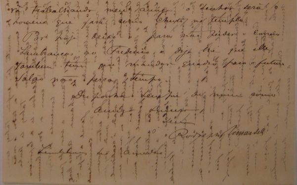 CARTA DE RODOLPHO BERNARDELLI em 10-12-1894 - pag. 3
