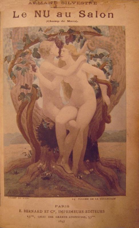 """CAPA DA REVISTA """"LE NU AU SALON"""" - 1897"""