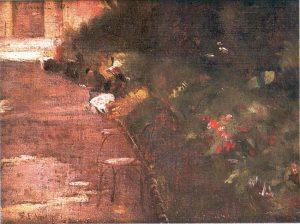 JARDIM DO LUXEMBURGO - OST - 24,0 x 31,5 cm - 1896 - LOCALIZAÇÃO DESCONHECIDA