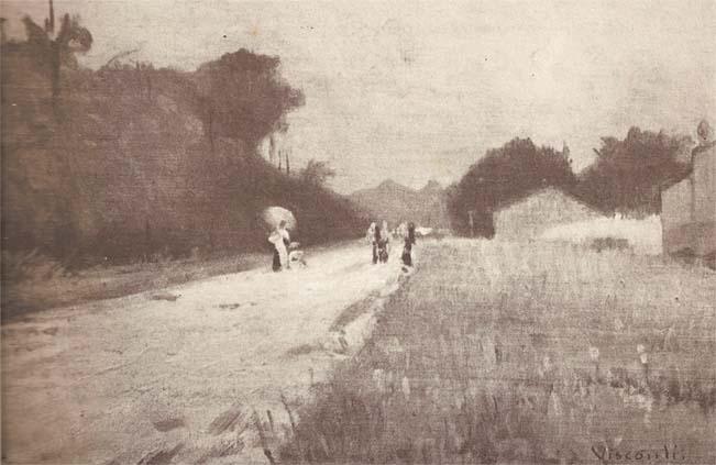PAISAGEM DE SEINE-ET-OISE - OST - 28,0 x 34,5 cm - c.1915 - LOCALIZAÇÃO DESCONHECIDA
