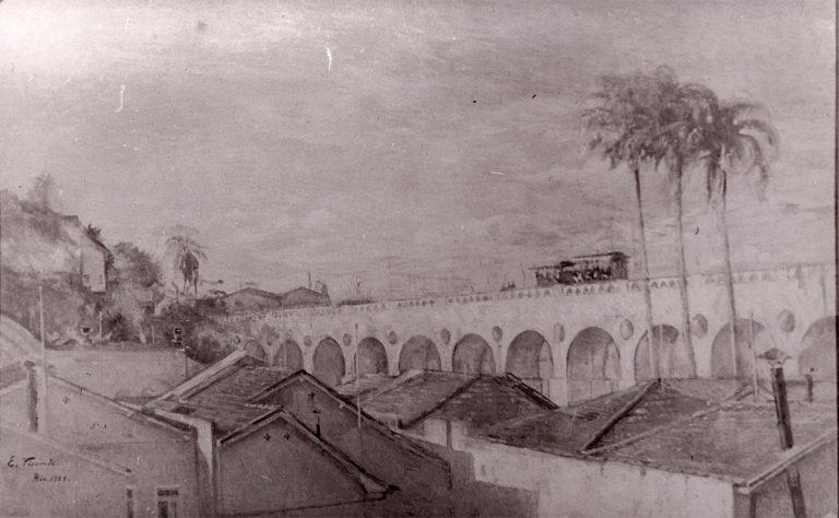 OS ARCOS - OST - 80 x 130 cm - 1925 - LOCALIZAÇÃO DESCONHECIDA