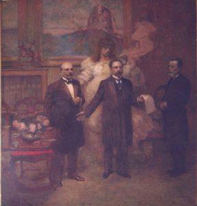 ALEGORIA À LEI ORÇAMENTÁRIA - OST - 220 x 200 cm - 1913 - MUSEU HISTÓRICO DA CIDADE DO RIO DE JANEIRO