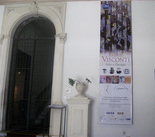 Exposição Arte e Design na Caixa Cultural de Salvador, em 2009