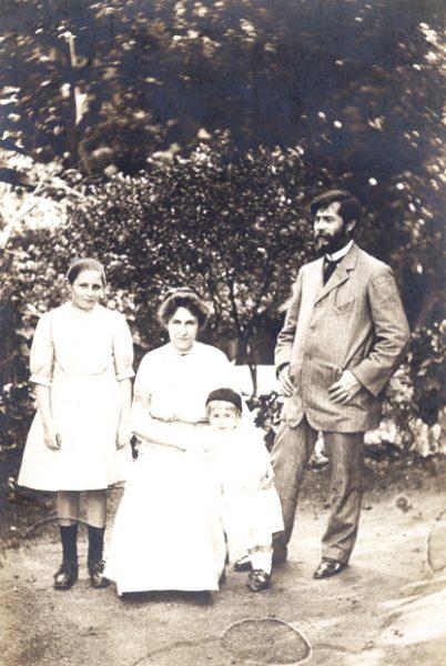 Com a família - 1912