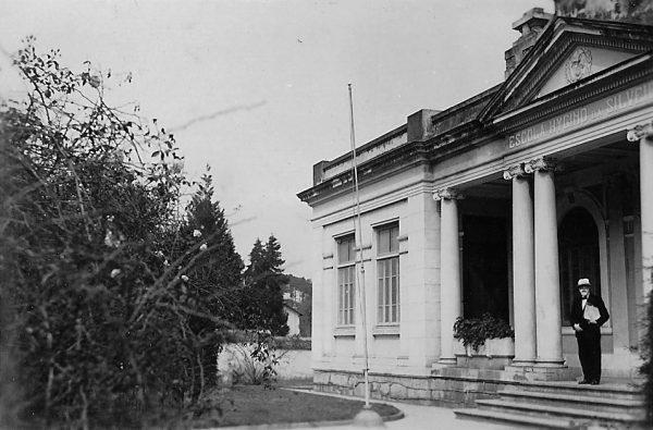 Visconti na Escola Higino da Silveira em Teresópolis - c.1938