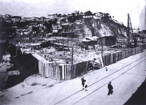 Theatro Municipal - Início das Obras