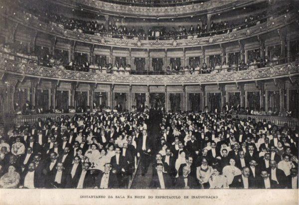 Inauguração do Theatro Municipal - 1909