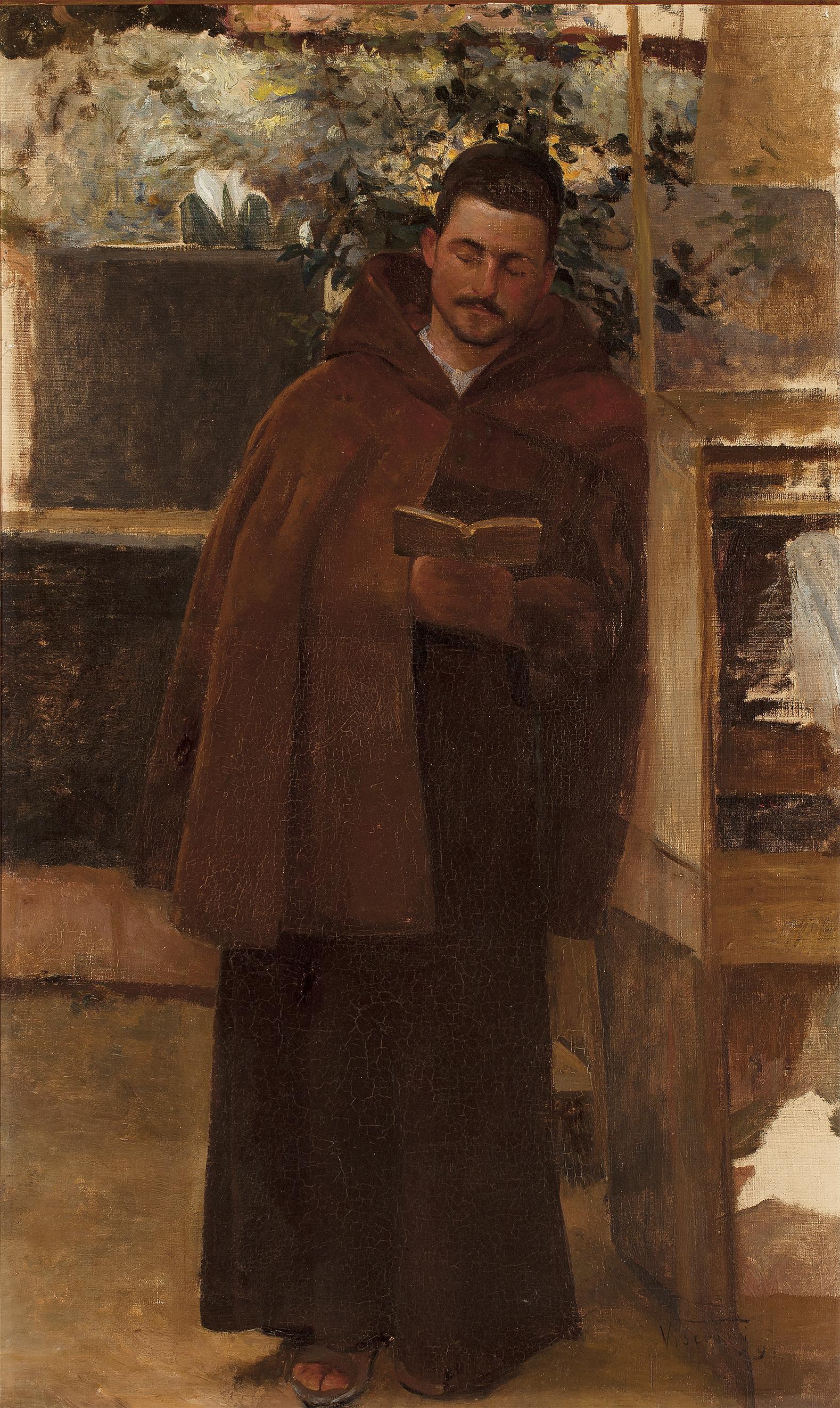 A LEITURA - OST - 75 x 46 cm - 1891 - COLEÇÃO PARTICULAR