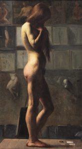 O MODELO - OST - 85 x 45 cm - c.1895 - INSTITUTO RICARDO BRENNAND - RECIFE - PE