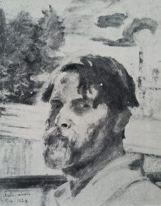 AUTORRETRATO - OST - 1924 - LOCALIZAÇÃO DESCONHECIDA