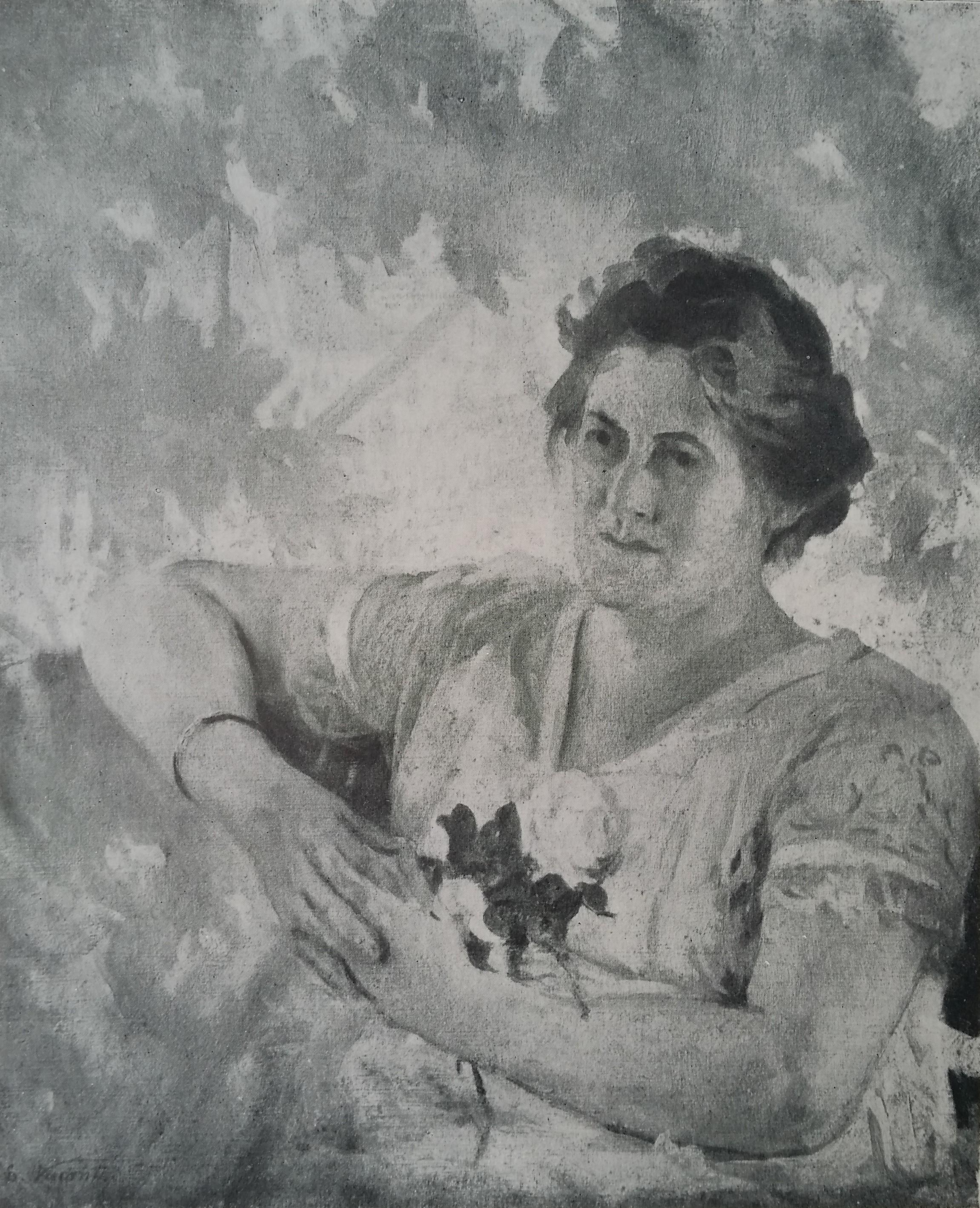 RETRATO DE MINHA MULHER LOUISE - OST - c.1925 - LOCALIZAÇÃO DESCONHECIDA