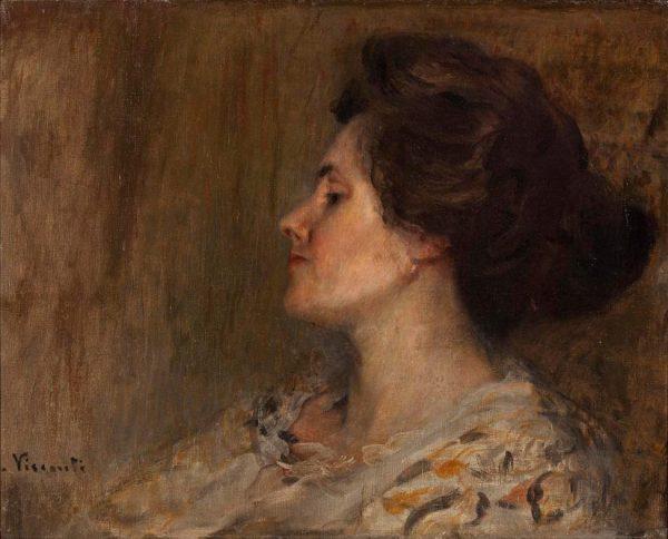 MINHA ESPOSA - LOUISE - OST - 42 x 51 cm - c.1911 - FUNDAÇÃO OSWALDO CRUZ
