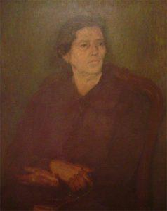 MINHA IRMÃ ANUNCIATTA - OST - 81 x 65 cm - 1927 - COLEÇÃO PARTICULAR