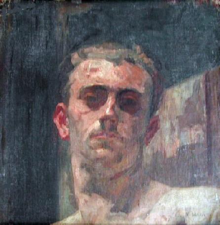 RETRATO DO FILHO (TOBIAS) - OST - 39 x 39 cm - c.1932 - MUSEU DE ARTE DE SÃO PAULO - MASP