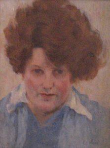 RETRATO DE YVONNE - OST - 35 x 27 cm - c.1929 - COLEÇÃO PARTICULAR