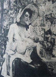 MÃE - OST - 135 x 105 cm - c.1910 - LOCALIZAÇÃO DESCONHECIDA