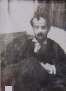 RETRATO DE RODOLFO BERNARDELLI - OSM - 33 x 26 cm - c.1899 - LOCALIZAÇÃO DESCONHECIDA