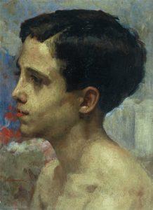 RETRATO DE JULINHO - OSM - 35 x 26 cm - c.1927 - COLEÇÃO PARTICULAR