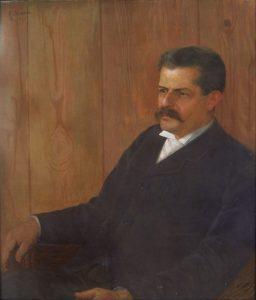 RETRATO DO IRMÃO AFONSO - TST - 73 x 59 cm - 1903 - MUSEU NACIONAL DE BELAS ARTES - MNBA - RIO DE JANEIRO/RJ