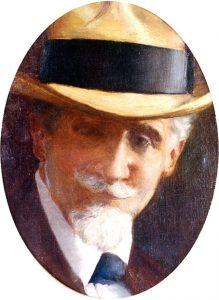 RETRATO DE FRANCISCO PEREIRA PASSOS - OST - 39,5 x 30,0 cm - 1912 - INSTITUTO RICARDO BRENNAND/RECIFE/PERNAMBUCO