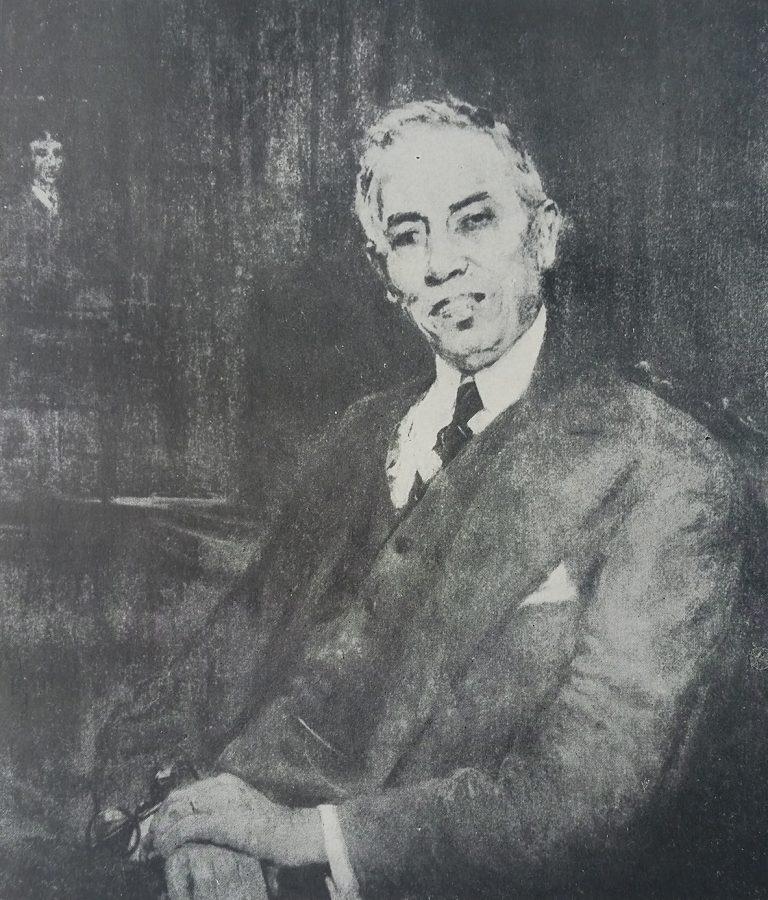 RETRATO DE JORGE DE SOUZA FREITAS - OST - 73 x 60 cm - c.1925 - LOCALIZAÇÃO DESCONHECIDA