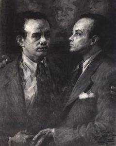 RETRATOS DE FREDERICO BARATA - OST - 1942 - COLEÇÃO PARTICULAR - LOCALIZAÇÃO DESCONHECIDA