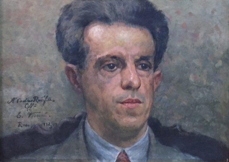 RETRATO DE PEDRO REIS FILHO - OSM - 25,5 x 34,5 cm - 1932 - COLEÇÃO PARTICULAR