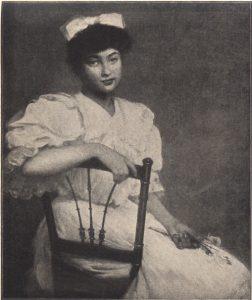 RETRATO DE MLLE. B. LINDHEIMER - OST - 1905 - LOCALIZAÇÃO DESCONHECIDA