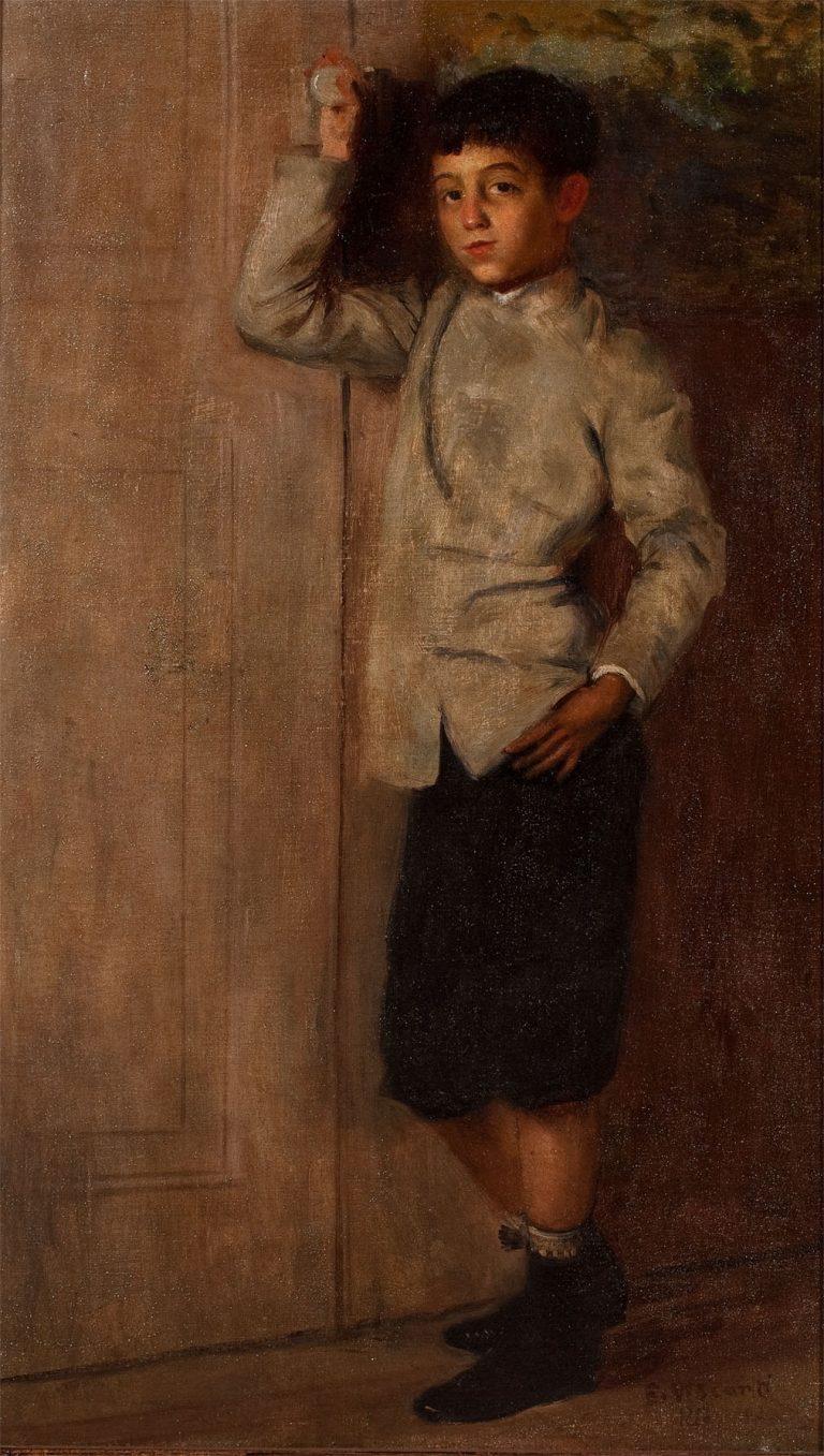 O COLEGIAL - OST - 44 x 26 cm - c.1898 - COLEÇÃO PARTICULAR