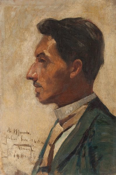 RETRATO DE MACEDO - OSM - 30 x 20 cm - 1890 - COLEÇÃO PARTICULAR