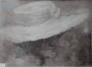 CHAPÉU BRANCO - OST - 33 x 40 cm - c.1905 - LOCALIZAÇÃO DESCONHECIDA