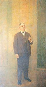 RETRATO DO COMENDADOR ALBINO DE SÁ COELHO - OST - c.1929 - IRMANDADE DA CANDELÁRIA/RIO DE JANEIRO
