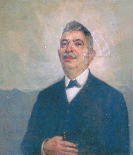 COMENDADOR ALBINO FERREIRA DE SÁ COELHO - OST - c.1929 - IRMANDADE DA CANDELÁRIA/RIO DE JANEIRO