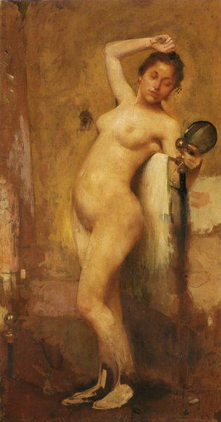 NU - OST - 165 x 88 cm - 1895 - MUSEU DE ARTE DE SÃO PAULO - MASP