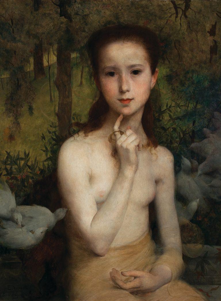 GIOVENTÙ - OST - 1898 - 65 x 49 cm - MUSEU NACIONAL DE BELAS ARTES - MNBA - RIO DE JANEIRO/RJ - GIOVENTU - MEDALHA DE PRATA NA EXPOSIÇÃO UNIVERSAL DE PARIS EM 1900