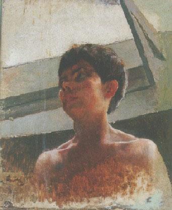 CABEÇA DE MENINO - OST - 55,3 x 46,0 cm - c.1894 - MUSEU DOM JOÃO VI/ESCOLA DE BELAS ARTES-UFRJ