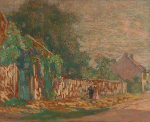 FLORES DA RUA - OST - 65 x 81 cm - c.1916 - COLEÇÃO PARTICULAR