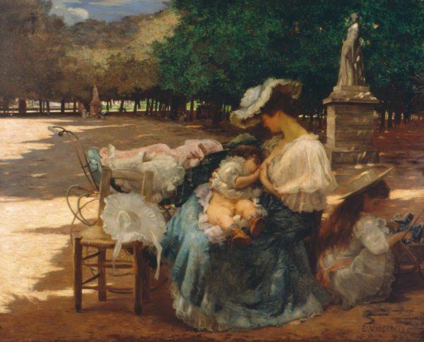 MATERNIDADE - OST - 165 x 200 cm - 1906 - PINACOTECA DO ESTADO DE SÃO PAULO