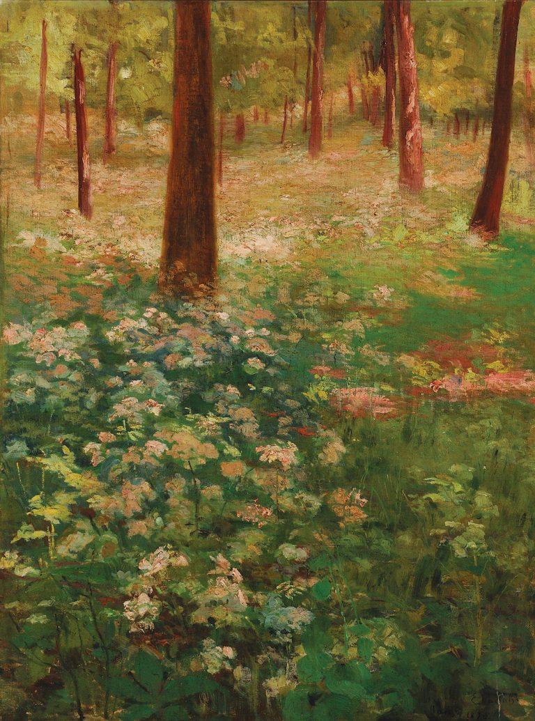 PRIMAVERA - OST - 60 x 45 cm - 1895 - COLEÇÃO PARTICULAR